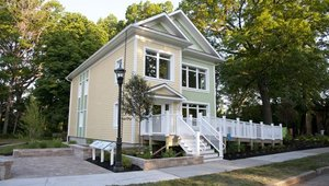 Passive house on display at museum