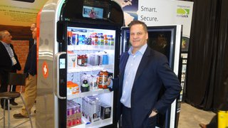 AI powers automated retail machine's interactivity