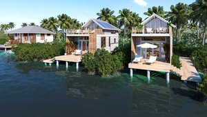 The 1,250-square-foot single bedroom villas include a full kitchen with high-end appliances start at $345,000.
