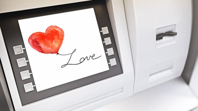 Love at the ATM