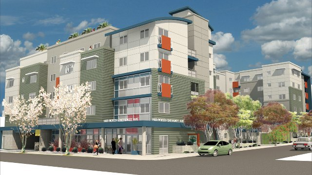 Transit-Friendly Affordable Housing Earns LEED Platinum