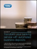 Transform your banking service with automated business deposits