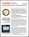 Lockdown Software for Jail Visitation Scheduling