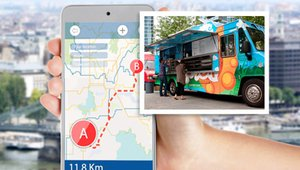 Phoodio app updates food truck schedules automatically for customers
