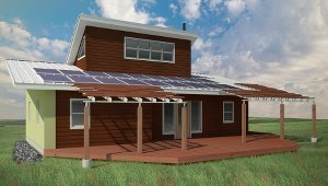 20 LEED homes planned for Montana reservation & 20 LEED homes planned for Montana reservation | Proud Green Home