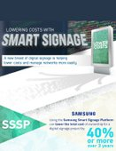 [INFOGRAPHIC] Lowering Costs with Smart Signage