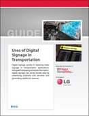 Uses of Digital Signage in Transportation