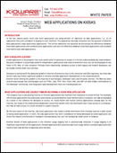 Web Applications on Kiosks