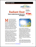Radiant Heat: What Is Radiant Heat and What Are Its Advantages?