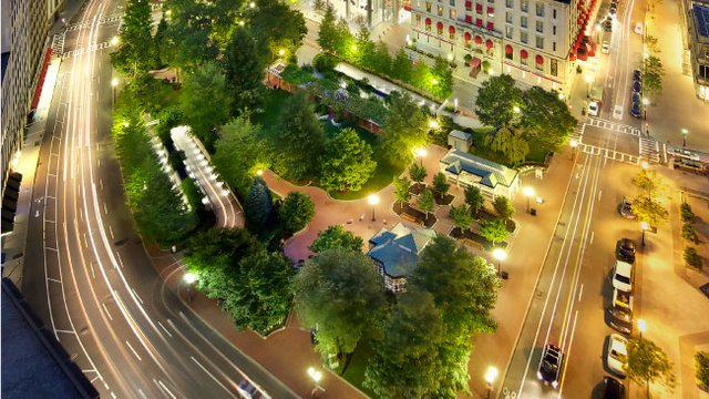 Parking garages becoming newest city parks