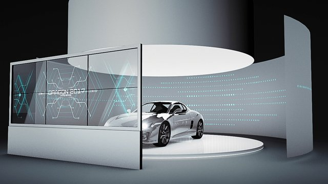High-end automotive OLED display concept wins Planar Clear Concept Awards