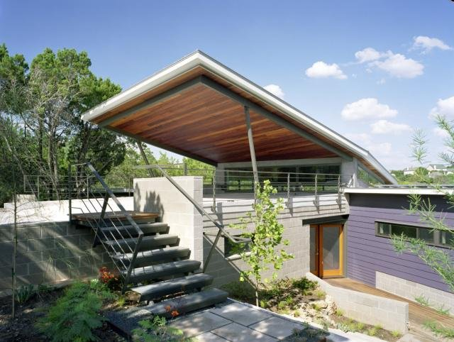 canyon edge sustainable home | proud green home