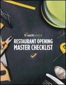 Restaurant Opening Master Checklist