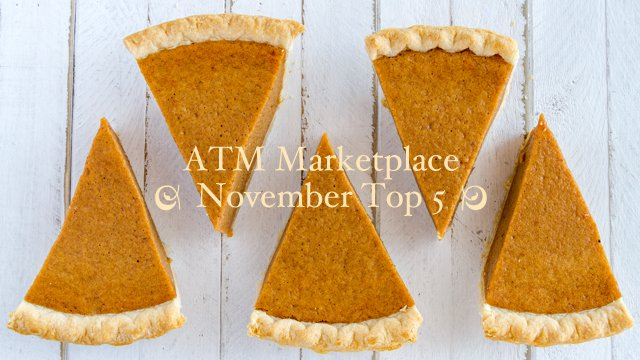 ATM Marketplace: November Top 5