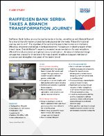 Case study: Raiffeisen Bank Serbia takes a branch transformation journey