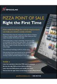 Pizza Point of Sale | Right the First Time