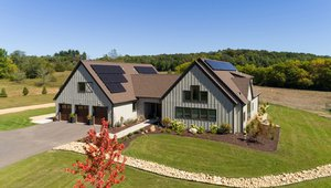 Amaris Homes built this 3,734-square-foot custom home in Afton, Minnesota, to the high performance criteria of the U.S. Department of Energy Zero Energy Ready Home (ZERH) program.