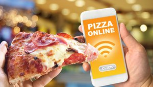 NYC all-digital pizzeria does all-online ordering, all the time