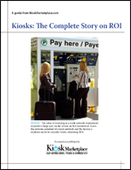 Kiosks: The Complete Story on ROI