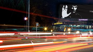 Digital out-of-home pays tribute to Star Trek's Spock.