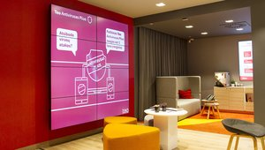 Lithuania's largest telco company implements digital-signage network