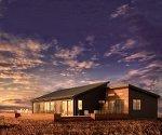 Prefab home shines in Frank Lloyd Wright's shadow (video)