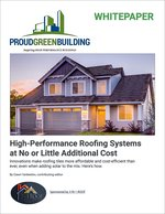 High-Performance Roofing Systems at No or Little Additional Cost