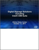 Webinar: Digital Signage Solutions including Intel® AIM Suite
