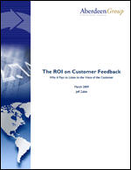 The ROI on Customer Feedback: Why It Pays to Listen to the Customer