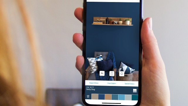 Visualize paint colors in real time with new augmented reality app