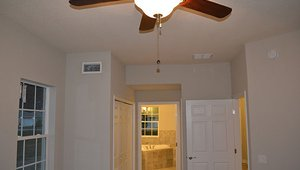 Ceiling fans help the home to feel more comfortable while using less air conditioning.