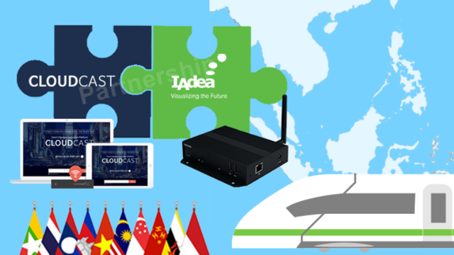 IAdea Partners with CloudCast Powered by KNOWCK Delivering Robust Easy-to-Use Digital Signage Solutions Perfect for Southeast Asian Markets
