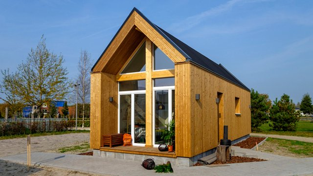 Community looks to use efficient tiny homes to address veteran homelessness