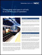 Incorporating retail space in rail hubs to recover the costs of operations