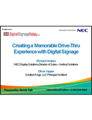 Webinar: Creating a Memorable Drive-Thru Experience with Digital Signage