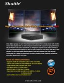 Shuttle DS87: High Performance Triple-Display Media Player