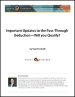 Important updates to the pass-through deduction—will you qualify?