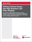 Solving Common Issues with High Definition LED Video Displays