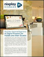 The 5 Star Experience: A Digital Present for Hotels and Their Guests