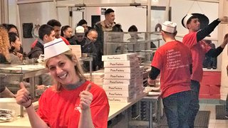 Digital-only pizza brand makes debut in New York
