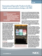 NEC, ProActive replace lightboxes with digital signage at ISP headquarters