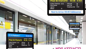 Passenger Signage Streams to 8 Displays, Bringing Live Feeds to All Travelers
