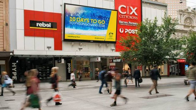 APN Outdoor puts Winter Olympics into the streets in Australia