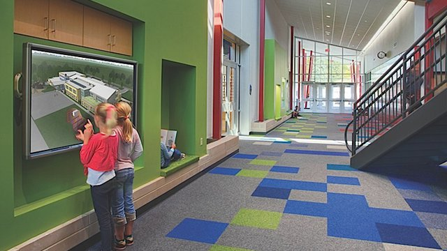 Wisconsin elementary school achieves LEED first