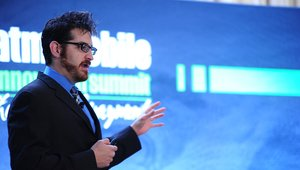 <p>Following Henry's presentation, CrowdStrike security specialist Adam Meyers described hacking methods used by organized crime gangs to infiltrate data systems.</p>