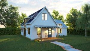 Pre-Fab Solar Farmhouse Blends Style and High Tech
