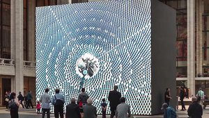 Art and digital signage intersect at NYC's Lincoln Center
