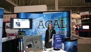 ACAL, which specializes in anti-skimming technology for ATMs, was a first-time exhibitor at the RD event.