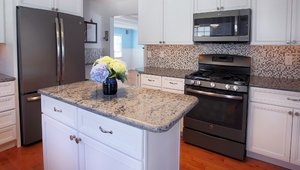 Slate appliance finishes inspire Hurricane Sandy rebuild