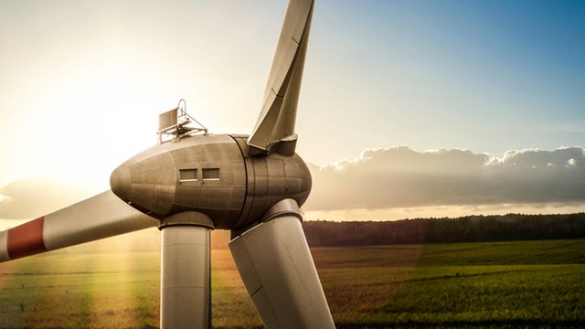 Energy minister officially launches Ore Valley community wind turbine